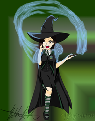 Harry Potter OC 2 - Collab by FlyingPrincess