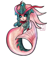 Quick Chibi Koi Nami by KittyCatKissu