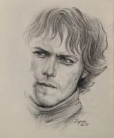 Sam Heughan by IrkaY