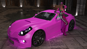 Drive Pink by cwichura