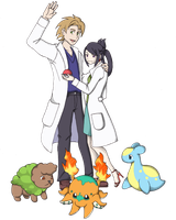 Aisho - potential professors and starters by bigrika