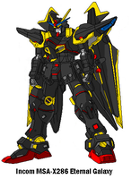 MSA-X286 Eternal Galaxy Gundam by SPARTAN-251