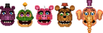 8-Bit Mediocre Melodies Heads (Pay for Use) by Noxious-Croww