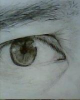 2012 drawing - eye by nielopena