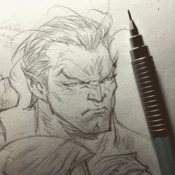Namor Sketchbook by rogercruz