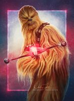 Chewbacca by cmloweart