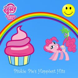 Pinkie Pie's Happiest Hits album art by EndlessWire94