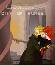 City Of Bones by Cassie Clare by periwinkle-blue