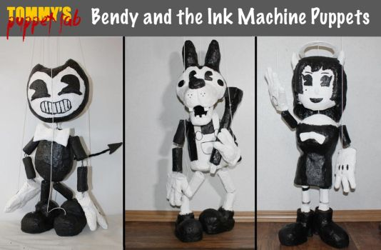 Bendy and the Ink Machine Marionettes by TommyGK