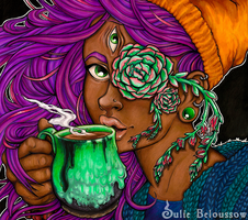 Tea and The Ineffable by JulieBeloussow