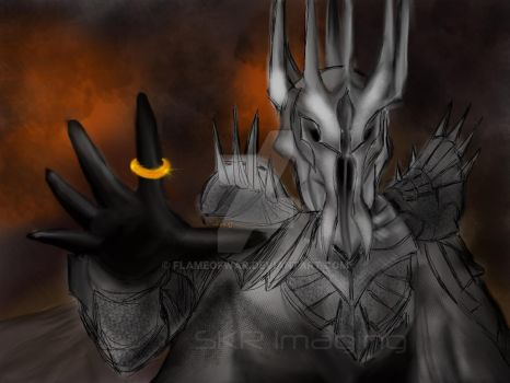 One Ring To Rule Them All by flameofwar