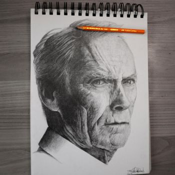 Clint Eastwood by Norwegian-Elite