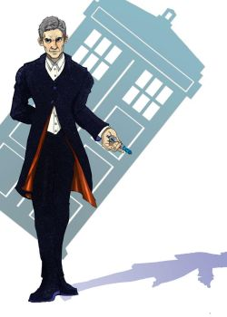 12th Doctor by LindseyWagner