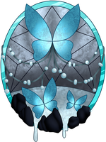 C Raina Stained Glass  by Beadedwolf22