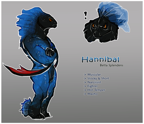 [REFERENCE] Hannibal the Siamese Fighting Fish by Dr-Maria