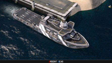 TDN Logistics Support Ship by Helge129