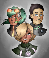 Bennett Clan by Madssnorkle