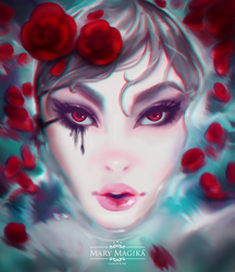 Roses by MaryMagika