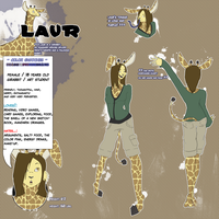 Reference Sheet: Laur by Nefepants
