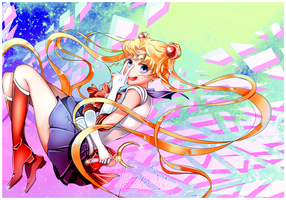 SM: Sailor Moon by iza-chan