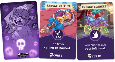 5 Minute Dungeon- Curses- Expansion by stplmstr