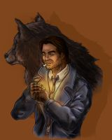 Bigby Wolf - Fan-art by Dyibran