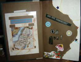 1st Altered Book 1, Favorites by angelstar22