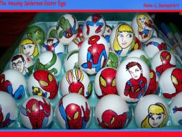 The Amazing Spiderman Easter Eggs by Rene-L