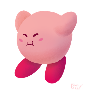 Kirby [Pink] by DokGilda