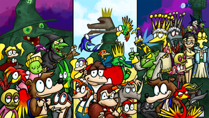 Commission - The Rareware 64 Trilogy by Altermentality