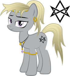 MLP FiM OC - Castle Lady by Saillard