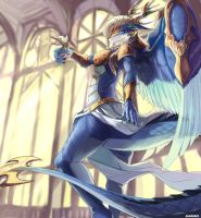 Saffira  Queen Of Dragons By Magiace by TungstemWillow
