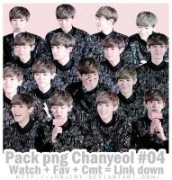[PNG] Chanyeol By.junjiny #04 by JUNJINY