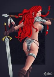 Red-sonja by jarnac