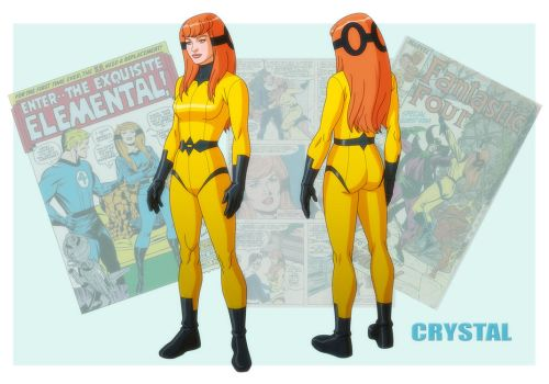 USM: CRYSTAL by Jerome-K-Moore