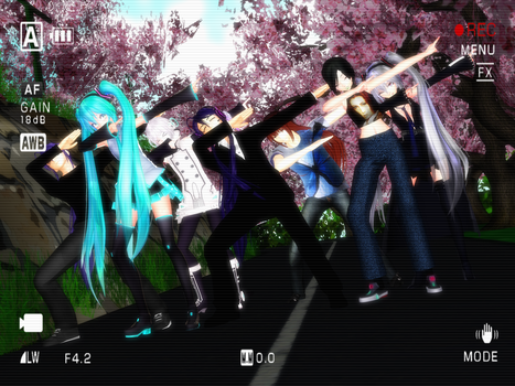MMD Everybody do the DAB! by JRoqqs25