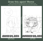 Before and After|Potatonod Again by MSTieMiss