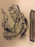 Captain Boomerang by dpdagger