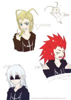 KH doodles 2 by SweetChibi