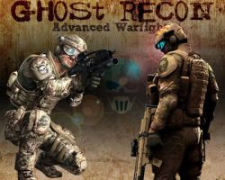 ghost recon AW by Hispanart