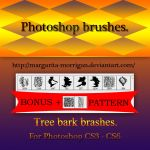 Tree Bark brushes by margarita-morrigan
