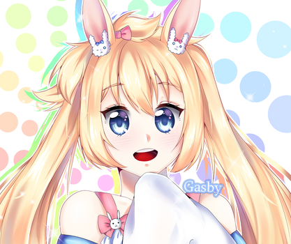 Headshot Request - Alice [+Speedpaint] by 00Ishikawa00
