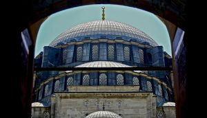 Biggest Mosque in the City by Hermetic-Wings
