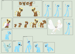 MLP - Southern Belle Massive Character Sheet - WIP by xavs-pixels