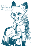 Partners - Comic Preview by Cookie-and-her-foxes