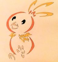 Torchic tribal design by Eothnoguy