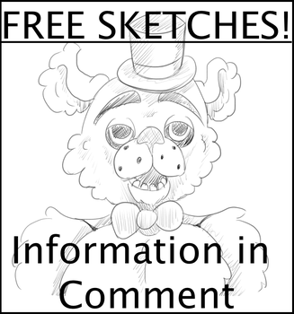Free FNAF Sketches! by LectorMedia