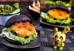FNAF Pizza Burger by JWBeyond