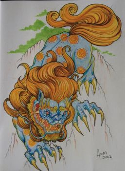foo dog by ZOOMZOOMMM