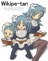 Wikipe's three ages by Kasuga39